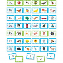 TCR20852 - Alphabet Pocket Chart Cards in Sight Words