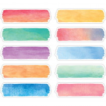 TCR20873 - Watercolor Labels in Name Plates