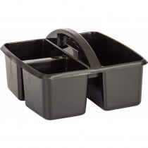 TCR20902 - Black Plastic Storage Caddy in Storage