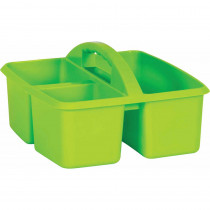 Lime Plastic Storage Caddy - TCR20905 | Teacher Created Resources | Storage Containers