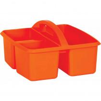 Orange Plastic Storage Caddy - TCR20907 | Teacher Created Resources | Storage Containers