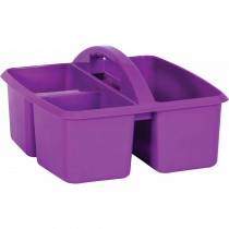 Purple Plastic Storage Caddy - TCR20909 | Teacher Created Resources | Storage Containers
