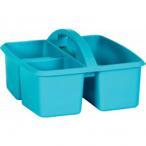 Teal Plastic Storage Caddy - TCR20911 | Teacher Created Resources | Storage Containers