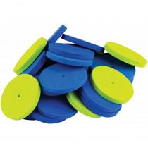 STEM Basics: Foam Wheels, 40 Count - TCR20944 | Teacher Created Resources | Foam