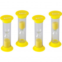 TCR20946 - 3 Minute Sand Timers Mini in Sand Timers