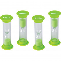 TCR20947 - 5 Minute Sand Timers Mini in Sand Timers