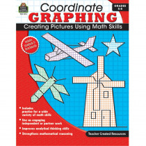 TCR2115 - Coordinate Graphing Gr 5-8 No Cd Included in Graphing