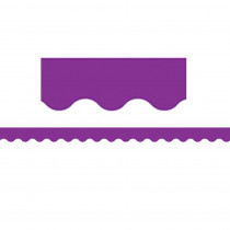 TCR2153 - Purple Scalloped Border Trim in Border/trimmer