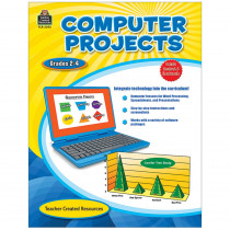 TCR2393 - Computer Projects Gr 2-4 in Resource Books