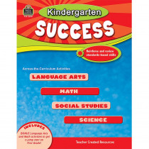 TCR2570 - Kindergarten Success in Skill Builders