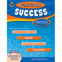 TCR2571 - First Grade Success in Skill Builders