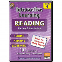 TCR2657 - Interactive Learning Reading Games Gr 4 in Language Arts