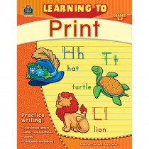 TCR2769 - Learning To Print Gr K-2 in Handwriting Skills
