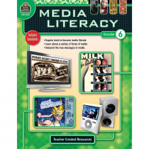 TCR2779 - Media Literacy Gr 6 in Books