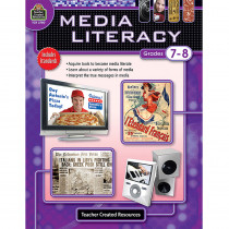TCR2780 - Media Literacy Gr 7-8 in Books