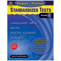 TCR2894 - Prepare & Practice For Standardized Tests Gr 4 in Cross-curriculum