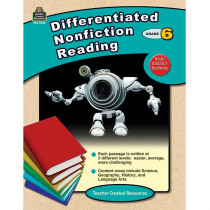 TCR2923 - Differentiated Nonfiction Reading Gr 6 in Reading Skills