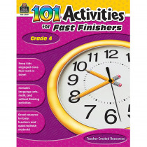 TCR2939 - Gr 4 101 Activities For Fast Finishers in Skill Builders