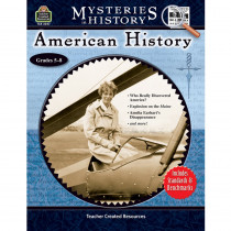 TCR3047 - Mysteries In History American History in History