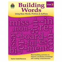 TCR3119 - Building Words Gr 3 in Word Skills