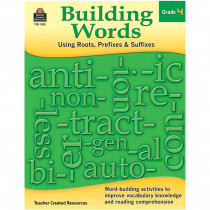 TCR3135 - Building Words Gr 4 in Word Skills
