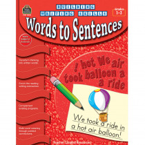 TCR3247 - Building Writing Skills Words To Sentences Gr 1-2 in Writing Skills