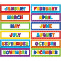 TCR3300 - Playful Patterns Monthly Headliners in Calendars