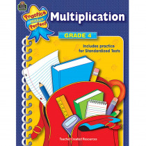 TCR3322 - Multiplication Gr 4 Practice Makes Perfect in Multiplication & Division
