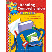 TCR3332 - Reading Comprehension Gr 2 Practice Makes Perfect in Comprehension