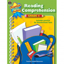 TCR3334 - Reading Comprehension Gr 4 Practice Makes Perfect in Comprehension