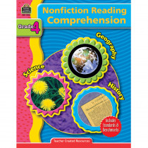 TCR3384 - Nonfiction Reading Comprehen Gr 4 in Comprehension
