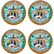 TCR3474 - Ranger Rick Wear Em Badges in Badges