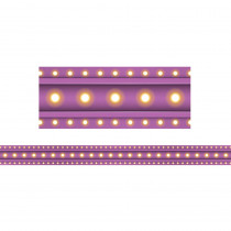TCR3478 - Purple Marquee Straight Border Trim in Border/trimmer