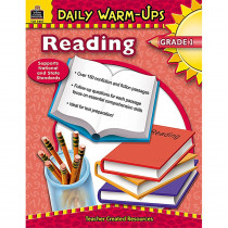 TCR3487 - Daily Warm-Ups Reading Gr 1 in Cross-curriculum Resources