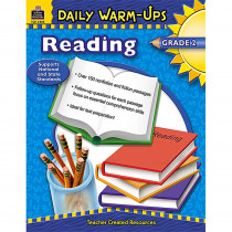 TCR3488 - Daily Warm-Ups Reading Gr 2 in Cross-curriculum Resources