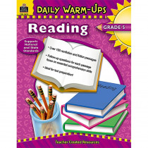 TCR3491 - Daily Warm-Ups Reading Gr 5 in Cross-curriculum Resources