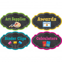 TCR3515 - Chalkboard Brights Supply Labels in Accessories