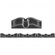 TCR3518 - Chalkboard Ribbon Die Cut Border Trim in Border/trimmer