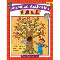 TCR3536 - Seasonal Activities Fall Gr Pk in Holiday/seasonal