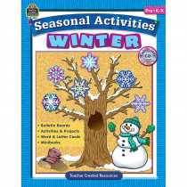 TCR3537 - Seasonal Activities Winter Gr Prek in Holiday/seasonal