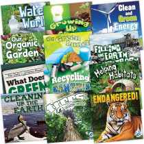 TCR366357 - Green Earth Science Discovery Library 12 Set in Earth Science