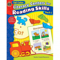 TCR3702 - Lit Center For Reading Skills Pk-1 in Activities