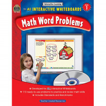 TCR3845 - Interactive Learning Gr 1 Math Word Problems in Math