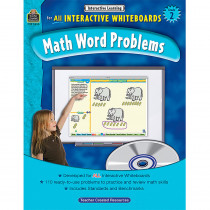 TCR3850 - Interactive Learning Gr 2 Math Word Problems in Math