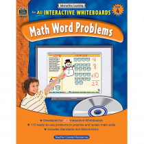 TCR3855 - Interactive Learning Gr 4 Math Word Problems in Math