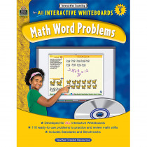 TCR3858 - Interactive Learning Gr 5 Math Word Problems in Math