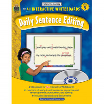 TCR3887 - Interactive Learning Gr 5 Daily Sentence Editing Bk W/Cd in Language Arts