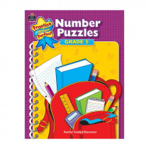 TCR3910 - Number Puzzles Gr 5 in Numeration