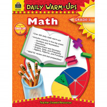TCR3961 - Daily Warm-Ups Math Gr 3 in Activity Books