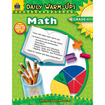 TCR3962 - Daily Warm-Ups Math Gr 4 in Activity Books